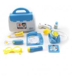 Игровой набор доктор синий 9 предметов Shantou Gepai 8006C