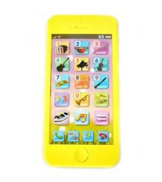 Игрушечный телефон музыкальные инструменты звук Shantou Gepai 82032-3RE