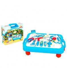 Игровой набор доктора в переносном столике чемоданчике Shantou Gepai FDE944