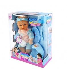 Кукла функц я 35 см пьет и писает 12 звуков Shantou Gepai LD9707F