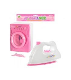 Игровой набор appliance стиральная машина и утюг Shantou Gepai LS820G7