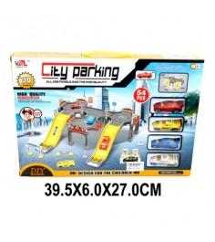 Паркинг город 2 уровня машина 4 шт Shantou Gepai P668-9