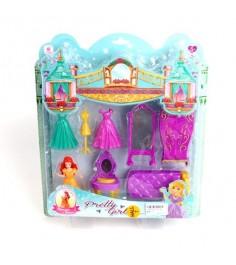 Игровой набор спальня принцессы 8 предметов Shantou Gepai SS013B