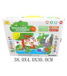 Развивающий коврик музыкальный веселый зоопарк Shantou Gepai YQ2979