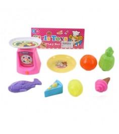 Игровой набор весы с продуктами 7 предметов Shantou Gepai ZD892-46