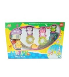 Мобиль на кроватку с погремушками happy baby toys Shantou Gepai 1308M207