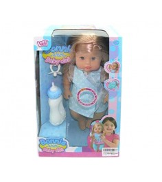 Кукла функц я 35 см пьет и писает 12 звуков Shantou Gepai LD9706C