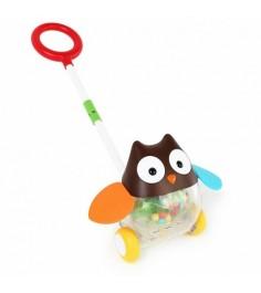 Игровая каталка Skip Hop с ручкой Сова SH 303103