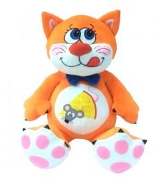 Мягкая игрушка котенок барсик 29 см СмолТойс 2096/ОРЖ/29...