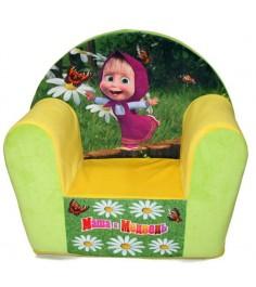 Детское кресло с чехлом маша и медведь СмолТойс 2190/ЖЛ/50...