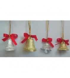 Набор металлических колокольчиков 12 шт Snowmen Е0124