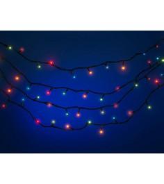 Новогодняя электрическая гирлянда 180 лампочек Snowmen Е2022