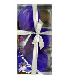 Набор елочных игрушек ручной работы шар ромб капля 7 см Snowmen Е50346-С
