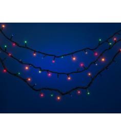 Электрическая гирлянда 8 режимов свечения 9.3 м Snowmen Е50548