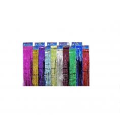 Новогоднее украшение разноцветный дождик 1 м Snowmen Е50874
