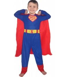 Карнавальный костюм супермен 120 130 см Snowmen Е60448-2