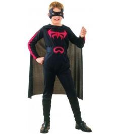 Костюм бэтмена с маской 7 10 лет Snowmen Е6338-2