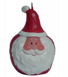 Новогодняя свеча дед мороз 10 см Snowmen Е70487