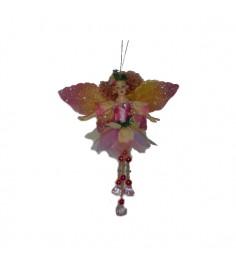 Новогодняя подвеска фея и самоцветы 18 см Snowmen Е71011