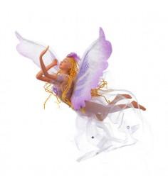 Новогодняя фигурная подвеска летящая фея Snowmen Е80692