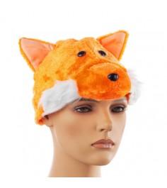Новогодняя шапочка лисы Snowmen Е91163