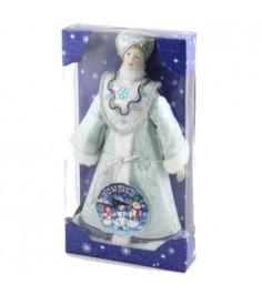 Мягкая новогодняя игрушка под елку снегурочка 35 см Snowmen Е91356