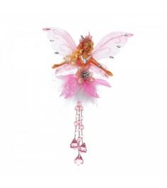 Фея с самоцветами розовая 20 см Snowmen Е92162