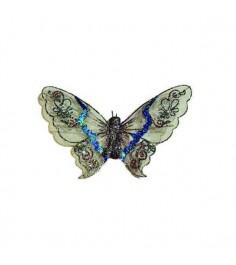 Новогоднее украшение подвеска бабочка Snowmen Е92184