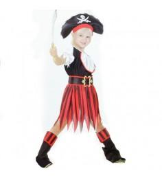 Костюм пиратка 7 10 лет Snowmen Е93155