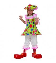 Карнавальный костюм клоунессы 7 10 лет Snowmen Е93158