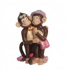 Статуэтка две влюбленные обезьянки 8 см Snowmen Е96056