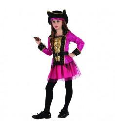 Карнавальный костюм пиратка 130 140 см Snowmen Е96495