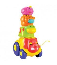 Каталка Веселые слоники Toy target 23091