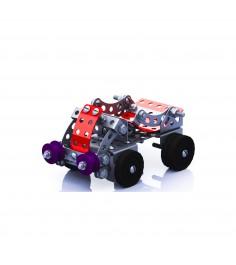 Металлический конструктор с подвижными деталями грузовик Тридевятое царство 2032