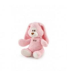 Мягкая игрушка Trudi Заяц Вирджилио розовый 26см 18128