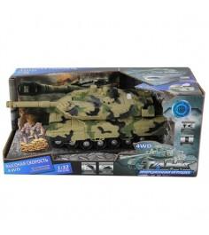 Инерционный танк свет звук 1:32 Yako 6506-4