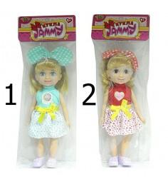 Кукла jammy с бантиком 25 см Yako M6292