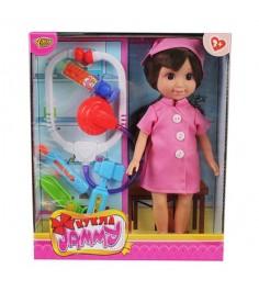 Кукла jammy с аксессуарами доктор 25 см Yako M6333