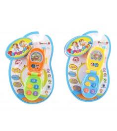 Развивающая игрушка умный я телефончик свет звук овальная Zhorya ZYE-E0046-1