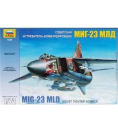 Сборная модель самолета миг 23 млд 1:72 Звезда 7218
